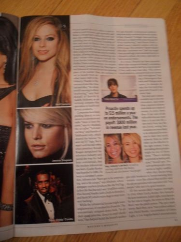 Avril Lavigne In The Latest Edition Of Macleans Magazine!