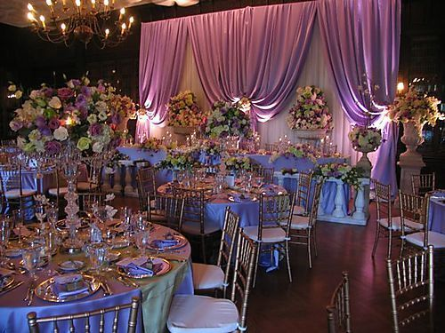 """ Enchanted "" wedding theme"