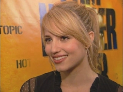 Dianna+agron+hot+topic