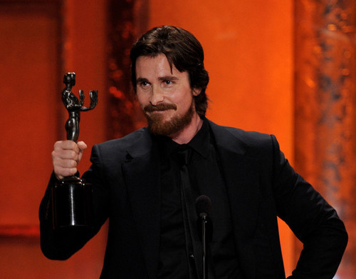 17th Annual Screen Actors Guild Awards Christian Bale