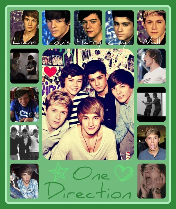 1D = Heartthrobs (1 Band, 1 Dream & Only 1D) 100% Real :) x - one-direction fan art