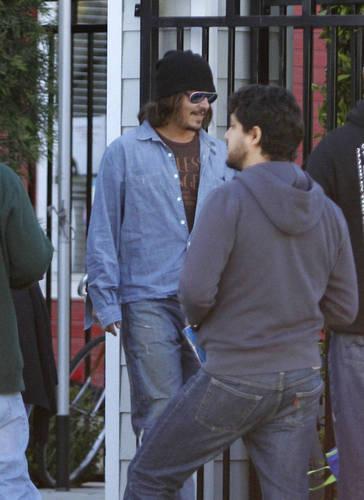 31st Jan Los Angeles - Johnny Depp