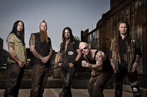 Five Finger Death punch, punzone wallpaper containing a strada, via and a hip boot called 5FDP