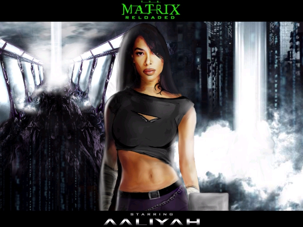 Aaliyah in Matrix