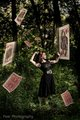 Alice In the swirl of card - fairy-tales-and-fables photo