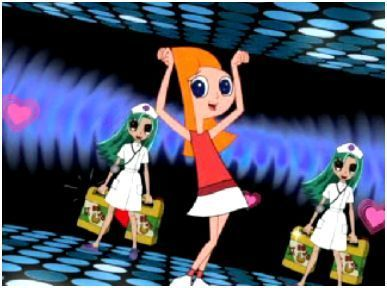 phineas y ferb fondo de pantalla probably containing anime called anime Candace!