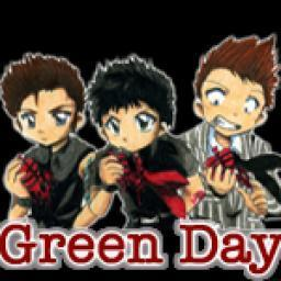 anime Green hari