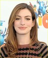 Anne Hathaway: 'Rio' Sneak Beak Screening!