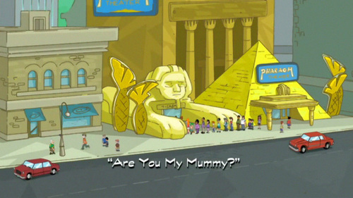 Are You My Mummy? pamagat card