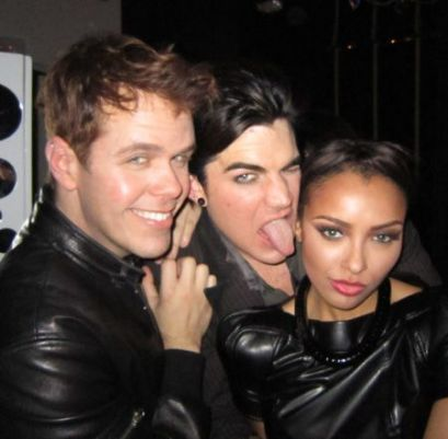 Attending Adam Lambert's Birthday Celebration - katerina-graham photo