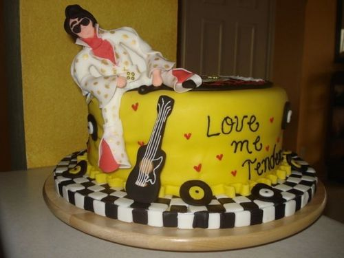 Elvis Presley kertas dinding entitled Awesome Elvis Cake