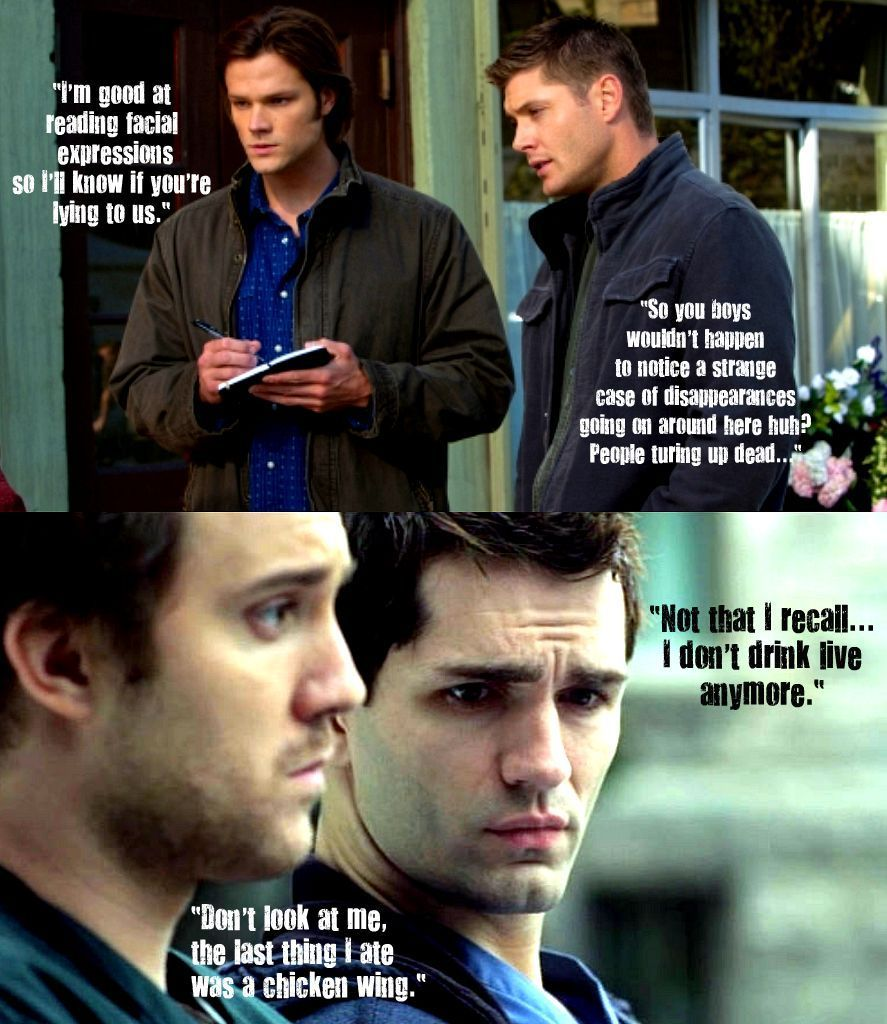 BEING HUMAN/SUPERNATURAL crossover!! - Being Human (U S) Fan