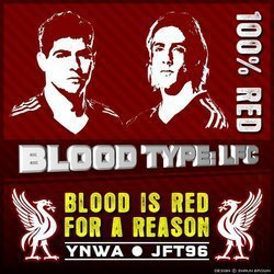 BLOOD IS RED FOR A REASON