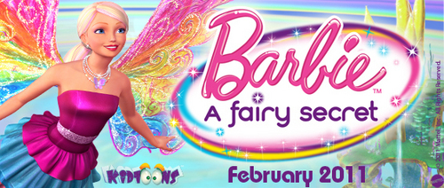 Banner a Fairy secret! (Barbie)