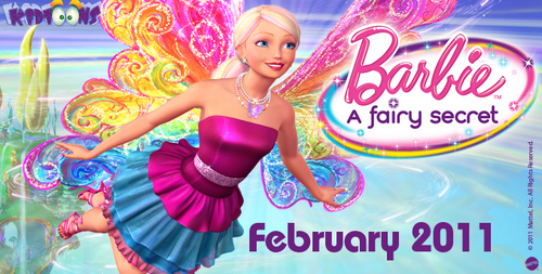 Banner a Fairy secret! (Barbie)