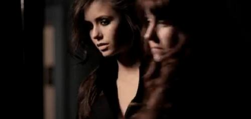 Nina Dobrev wallpaper containing a portrait entitled Behind-The-Scenes of Nina's 'Elle' Shoot (Screencaps).