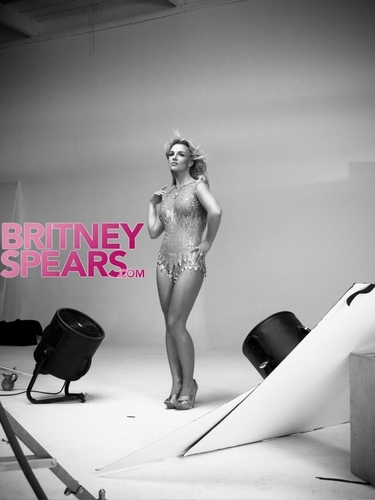 Britney ❤-Photoshoot - Peggy Sirota - Behind The Scenes