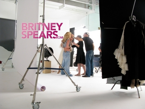 Britney ❤-Photoshoot - Peggy Sirota - Behind The Scenes