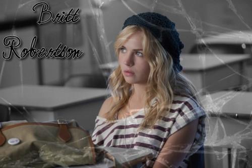 Britt Robertson. < 3