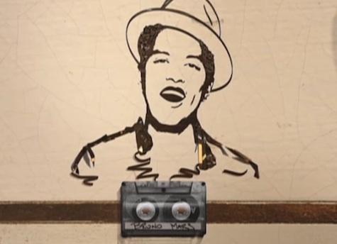 Bruno Mars Cassette Tape
