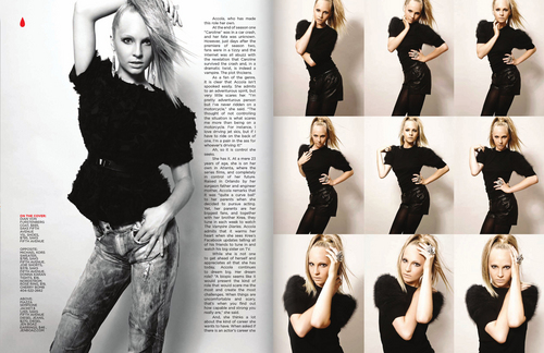 Candice in CH2 Magazine (October 2010).