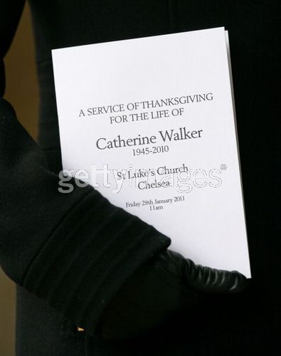 Catherine Walker Memorial Service