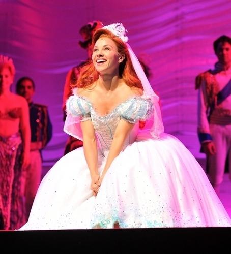 Chelsea as Ariel