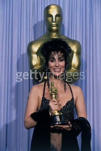 Cher wins an Academy Award (1988)
