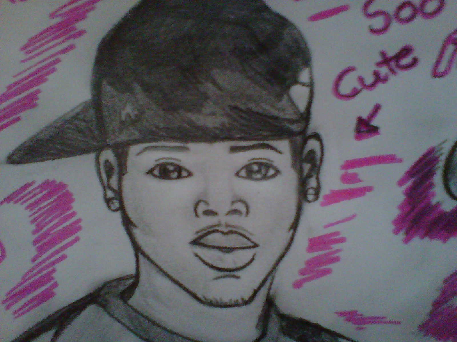 kris-brown images chris brown drawing hd fond d'écran and background