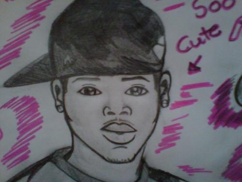 Chris Brown Drawing