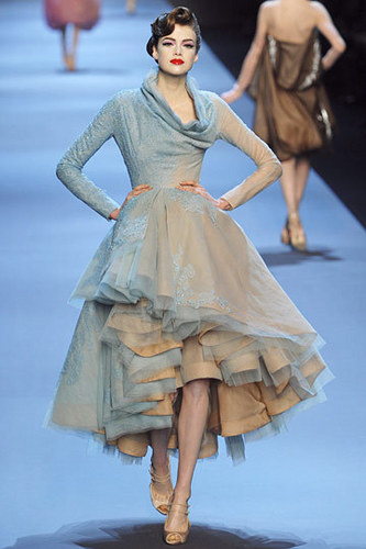 Dior wallpaper probably containing a polonaise, a gown, and a hoopskirt called Christian Dior Spring 2011 Couture