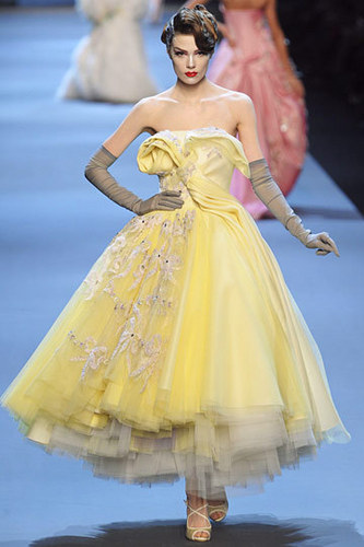 Dior wallpaper probably containing a gown, a bridal gown, and a ball gown called Christian Dior Spring 2011 Couture