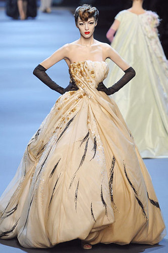 Dior wallpaper with a gown entitled Christian Dior Spring 2011 Couture
