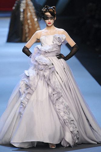 Dior wallpaper possibly with a bridal gown and a gown titled Christian Dior Spring 2011 Couture