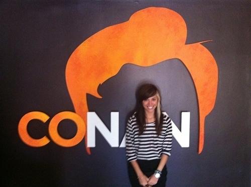 Christina Perri at Conan