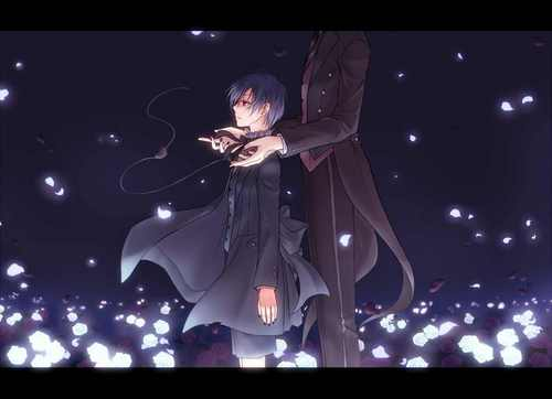 Ciel,his butler and others