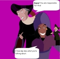 Clopin Gave Frollo Boobies