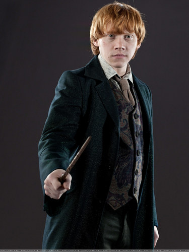 Rupert Grint wallpaper containing a business suit titled DH Promo Pics