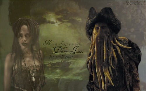 Davy Jones wallpaper possibly containing anime titled Davy Jones Wallpaper