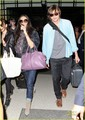 Demi Moore &amp; Ashton Kutcher: En Route to Brazil! - demi-moore photo