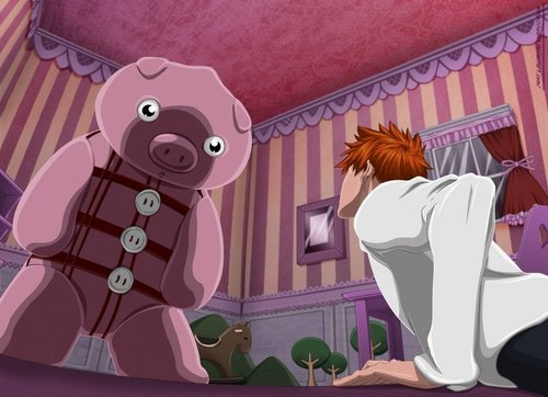 animê bleach wallpaper probably containing a sign titled Doll House