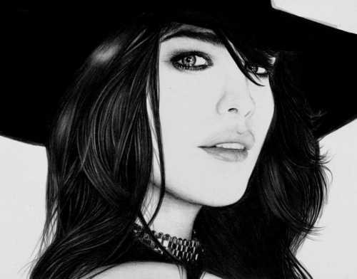 Drawed Liv Tyler
