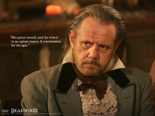 Deadwood wallpaper entitled E. B. Farnum