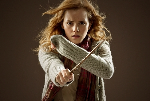 An actress a day for The deathly hallows wand