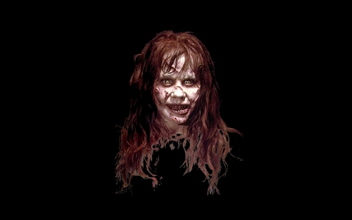 film horror wallpaper titled Exorcist