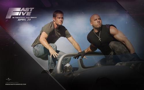 Paul Walker wallpaper titled Fast Five