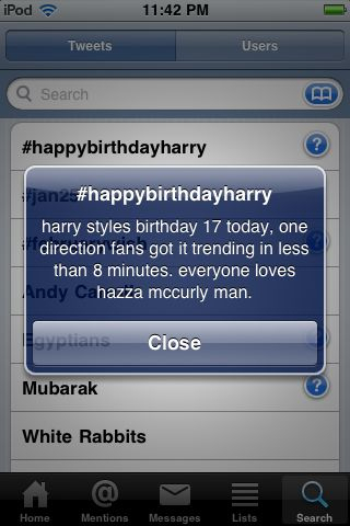 Flirty Harry (Happy 17th Birthday Hazza) Twet! 100% Real :) x