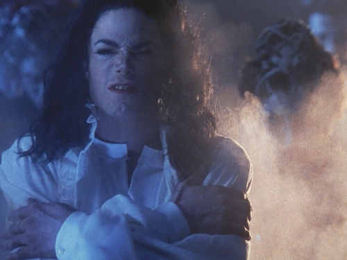 Michael Jackson's Ghosts wallpaper with a fire and a fire entitled Ghosts
