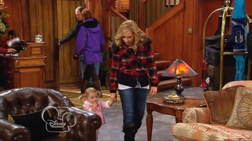 Mia Talerico wallpaper containing a drawing room and a living room titled Good Luck Charlie Snow Show Parts 1 and 2
