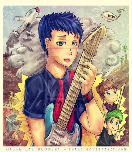 Green दिन Chibis/Cartoons/Comics :3